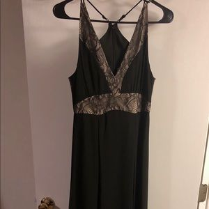 NWT BCBGeneration Mix Media Maxi Dress